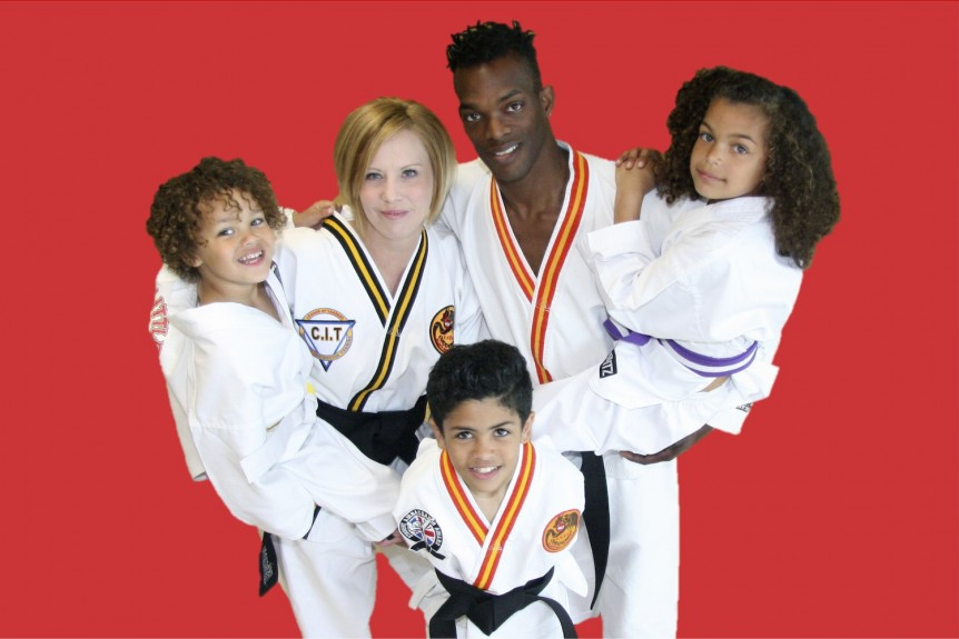 Martial Arts in Andover full size red background